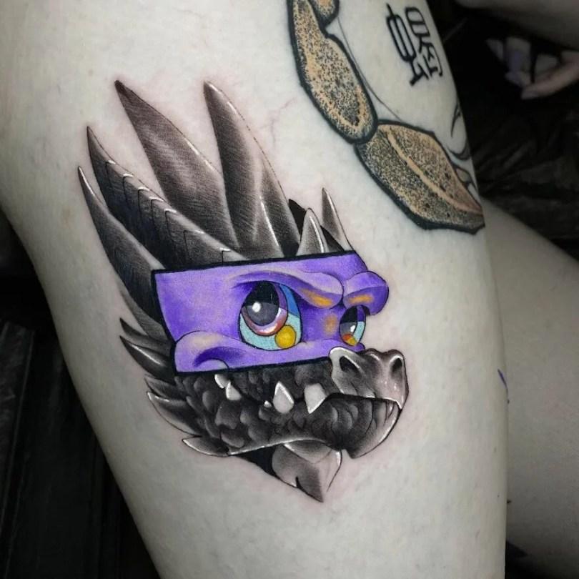 tatuagens criadas a partir de dois estilos diferentes por regra de tapete 24 - 45 tatuagens criadas a partir de dois estilos diferentes