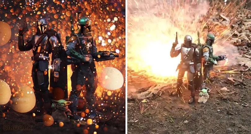 Fotografo usa brinquedos da cultura pop para criar uma incrivel fotografia de acao 10 - Quer mais? Então veja mais brinquedos em Ação! Aqui os personagens ganham vida!