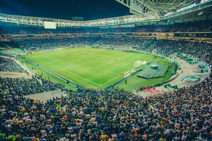 Allianz Parque tem chamado muito a atenção da principal patrocinadora do estádio (Gabriela Batista/Wtorre/Divulgação)