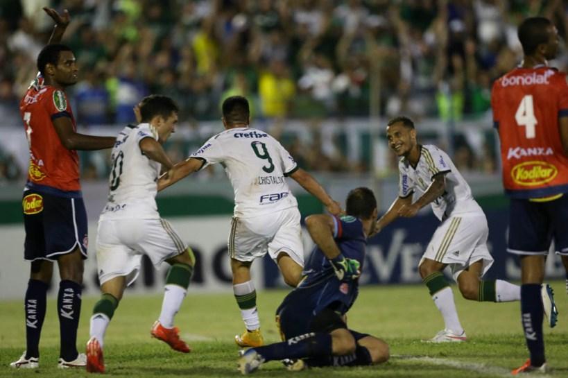 Cristaldo Gol Palmeiras Penapolense