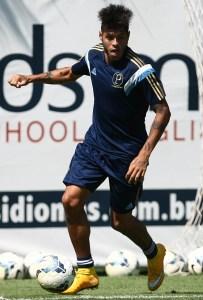 Em recuperação, atacante Leandro deve voltar ao time o Brasileiro. Foto: Cesar Greco/Ag Palmeiras/Divulgação