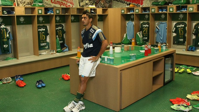 Robinho terá grande concorrência no meio de campo do Palmeiras (Foto: Cesar Greco / Ag. Palmeiras / Divulgação)