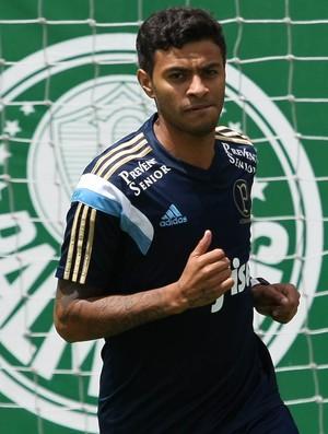 Cleiton Xavier ainda não pode estreiar pelo Palmeiras. (Cesar Greco/Ag. Palmeiras/Divulgação)