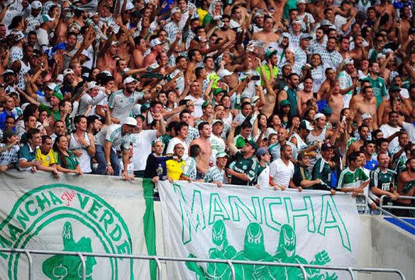 Torcida tem sido trunfo do Palmeiras no Campeonato Paulista.