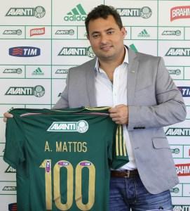Diretor de futebol falou sobre chegada os reforços especulados para o Palmeiras. (Cesar Greco/Ag. Palmeiras/Divulgação)