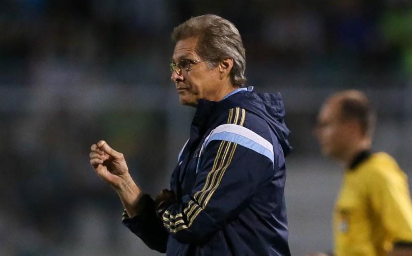 Oswaldo de Oliveira acredita que o resultado negativo contra o Red Bull vai servir de aprendizado para o time. (Cesar Greco/Ag. Palmeiras/Divulgação)