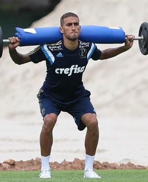 Rafael Marques será titular neste domingo  (Cesar Greco/Ag Palmeiras/Divulgação)
