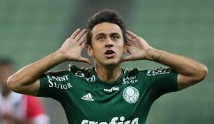 Robinho marcou golaço no Choque-Rei do Campeonato Paulista 2015, vencido pelo Verdão por 3 a 0. (Cesar Greco/Ag Palmeiras/Divulgação)