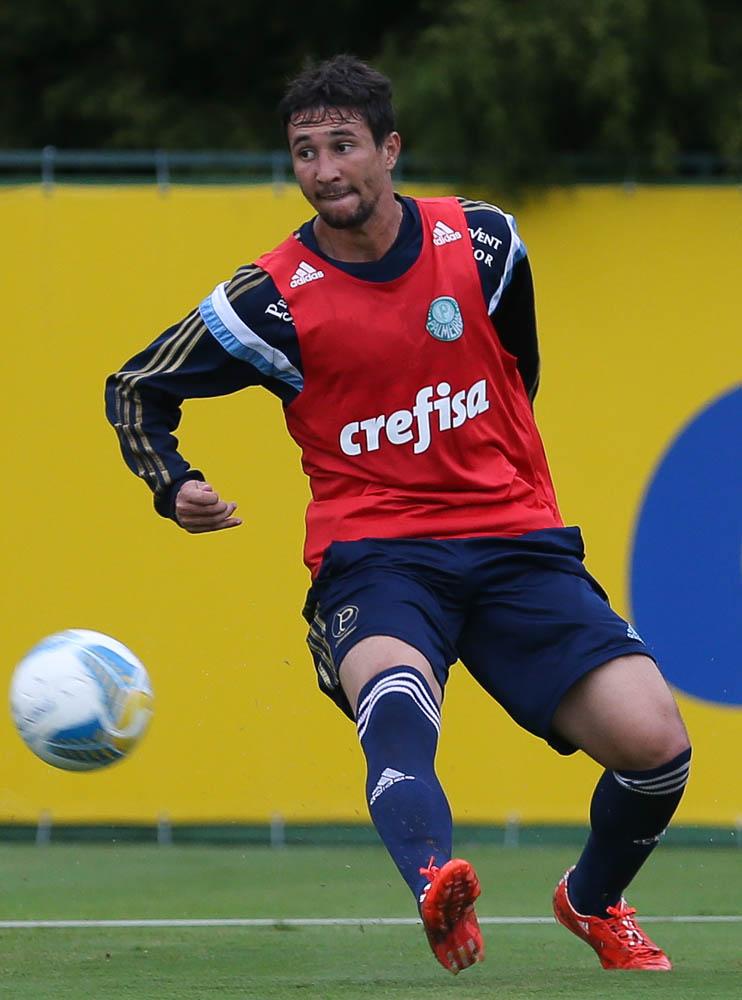Ryder é o segundo atleta contratado em 2015 a deixar o elenco. (Cesar Greco/Ag. Palmeiras/Divulgação)