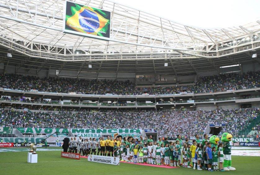 Torcida palmeirense mostra sua força no Allianz Parque, clube teve a maior média de público do Campeonato Paulista. (Cesar Greco/Ag. Palmeiras/Divulgação)