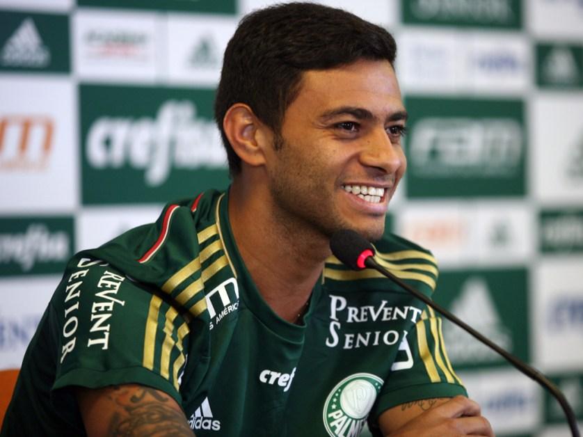 """""""É uma ansiedade boa, não vejo a hora de poder estar em campo e ajudar."""" (Fabio Menotti/Ag. Palmeiras/Divulgação)"""