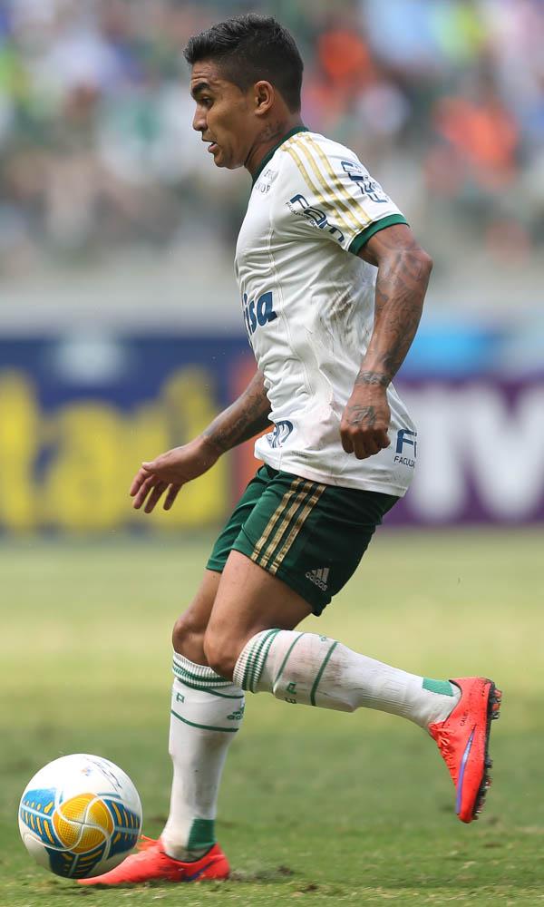 Importante no ataque, Dudu não conseguiu fazer gols na partida. (Cesar Greco/Ag. Palmeiras/Divulgação)