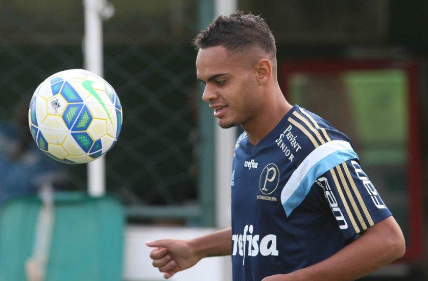 Juninho foi o camisa 10 do Palmeiras na Copa São Paulo deste ano. (Cesar Greco/Ag. Palmeiras/Divulgação)