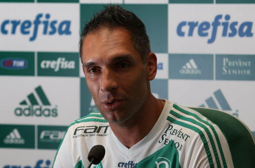 Prass foi excencial na vitória do Verdão sobre o Corinthians, resultando na classificação para a final do Paulistão. (Cesar Greco/Ag. Palmeiras/Divulgação)