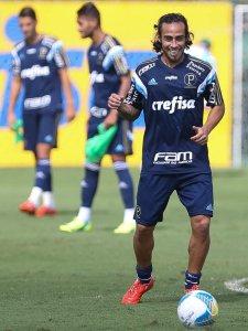 O Verdão faz o último treino antes do clássico amanhã (18), às 9h. (Cesar Greco/Ag. Palmeiras/Divulgação)