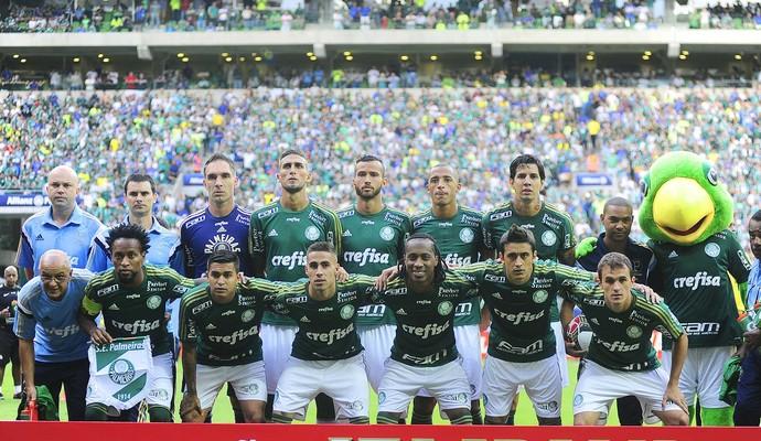 O Palmeiras é o clube com mais representantes na seleção do Campeonato Paulista