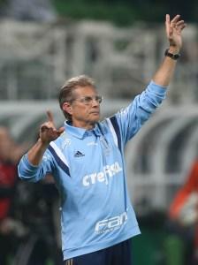 O comandante alviverde não descarta usar o camisa 11 novamente no meio. (Cesar Greco/Ag. Palmeiras/Divulgação)