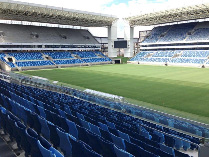 Palmeiras jogará pela primeira vez na Arena Pantanal em jogo com a Ponte Preta. (Divulgação/FIFA)