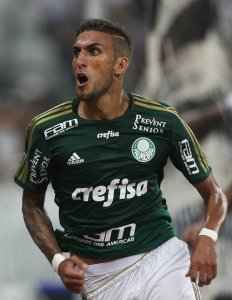 Rafael Marques foi um dos destaques da partida. (Cesar Greco/Ag. Palmeiras/Divulgação)