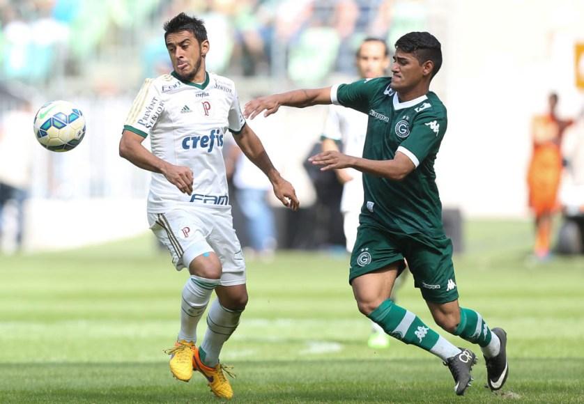 Para Robinho, agora é levantar a cabeça e trabalhar para buscar os pontos perdidos. (Cesar Greco/Ag. Palmeiras/Divulgação)