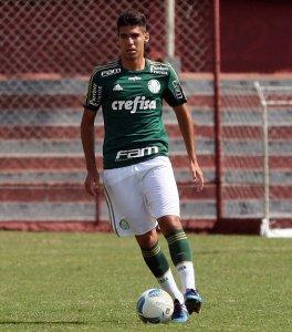 Thiago Parmigiani é capitão do sub-17 ddo Palmeiras (Fabio Menotti/Ag. Palmeiras/Divulgação)