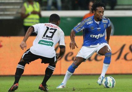 Zé Roberto entrou no decorrer da partida. (Cesar Greco/Ag. Palmeiras/Divulgação)