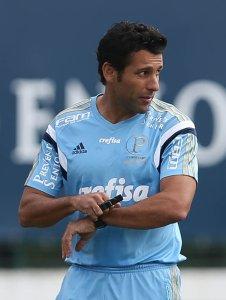 Alberto Valentim vive dias de comandante no clube alviverde. (Cesar Greco/Ag. Palmeiras/Divulgação)