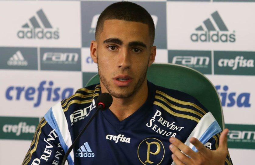Gabriel gostou bastante do rendimento palmeirense no duelo deste final de semana. (Cesar Greco/Ag. Palmeiras/Divulgação)