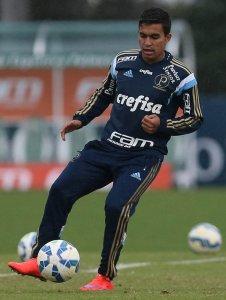 Dudu é um dos sete atacantes convocados para jogo com Sport. (Cesar Greco/Ag. Palmeiras/Divulgação)