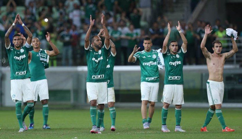 Força da torcida tem sido um dos trunfos do Palmeiras nesta temporada. (Cesar Greco/Ag. Palmeiras/Divulgação)
