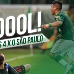 Gols de Palmeiras 4 x 0 São Paulo
