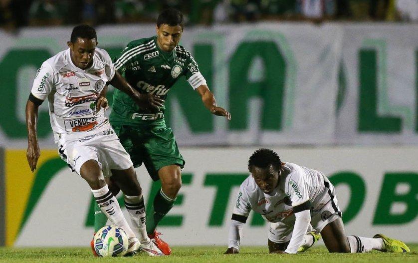 Cleiton Xavier foi titular diante do ASA nesta quarta-feira (15). (Cesar Greco/Ag.Palmeiras/Divulgação)