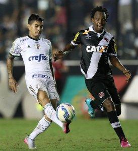Dudu destacou elenco e a boa marcação do time contra o Vasco. (Cesar Greco/Ag.Palmeiras/Divulgação)