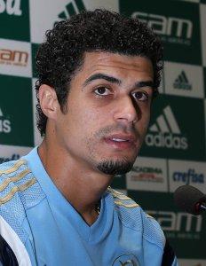 Egídio foi um dos destaques contra o São Paulo no último domingo, 28. (Cesar Greco/Ag. Palmeiras/Divulgação)