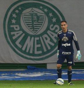 Fernando Prass não sofreu gols contra São Paulo e Chapecoense. (Cesar Greco/Ag. Palmeiras/Divulgação)