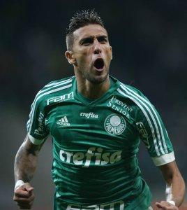 Rafael Marques abriu o placar no Allianz Parque, anotando seu 11º gol no ano. (Cesar Greco/Ag.Palmeiras/Divulgação)