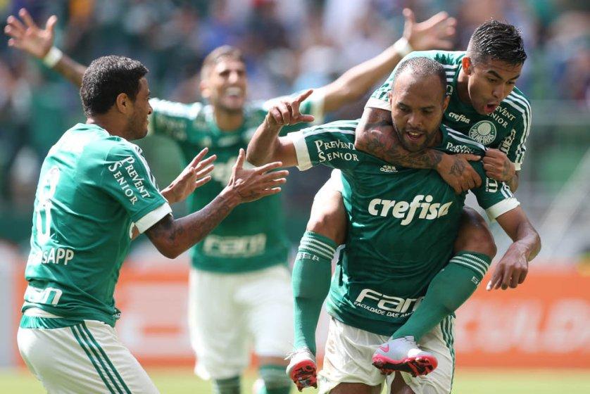 Alecsandro foi bem no segundo tempo, com um gol e uma assistência. (Cesar Greco/Ag. Palmeiras/Divulgação)