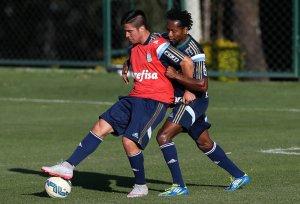 Palmeiras encerrou nesta terça-feira a preparação para encarar o Coritiba (Cesar Greco/Ag. Palmeiras/Divulgação)
