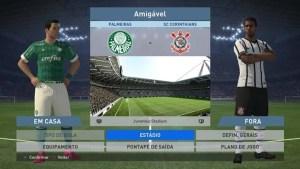 Time do Palmeiras está disponível na versão demo do PES 2016 (Reprodução/Murilo Molina/Techtudo)