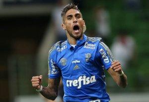 Dudu deu assistência para o segundo gol do Verdão na partida. (Cesar Greco/Ag.Palmeiras/Divulgação)