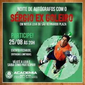 Ex-goleiro participará de de noite de autógrafos em São Bernardo. (Divulgação)