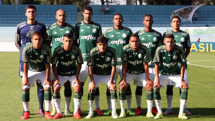 O primeiro jogo do confronto será em Santa Catarina. (Fabio Menotti/Ag. Palmeiras/Divulgação)