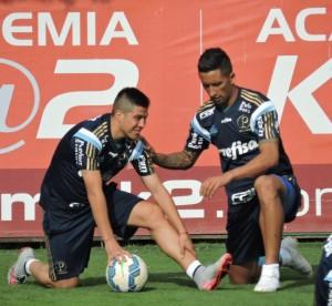 Após o treino, Verdão divulgou a lista dos relacionados. (Mídia Palmeirense)