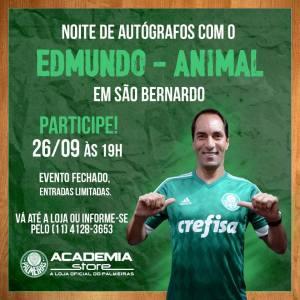 """O """"Animal"""" fará uma noite de autógrafos e tirará fotos na Academia Store de São Bernardo do Campo-SP. (Divulgação)"""