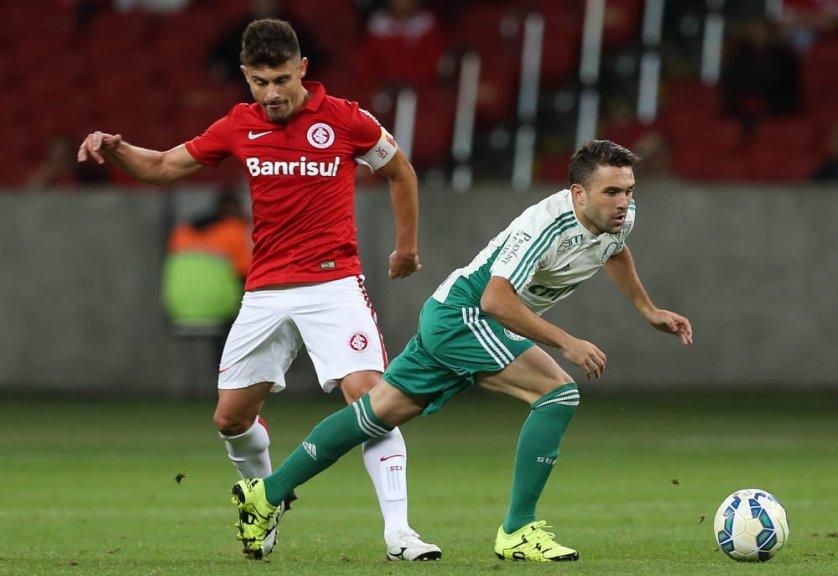 Allione entrou no segundo tempo e deixou o time mais ofensivo. (Cesar Greco/Ag. Palmeiras/Divulgação)