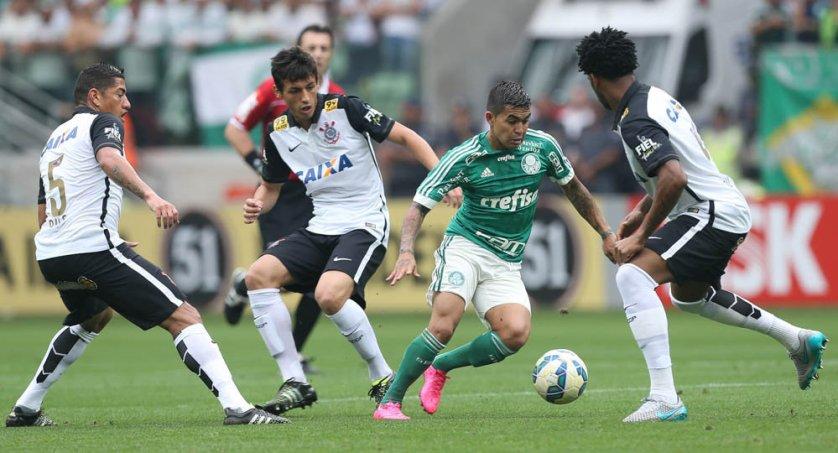 Dudu fez gol e foi um dos destaques da partida. (Cesar Greco/Ag. Palmeiras/Divulgação)