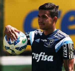 Dudu retorna e deve ser titular nesta quarta (23) contra o Inter. (Fabio Menotti/Ag.Palmeiras/Divulgação)