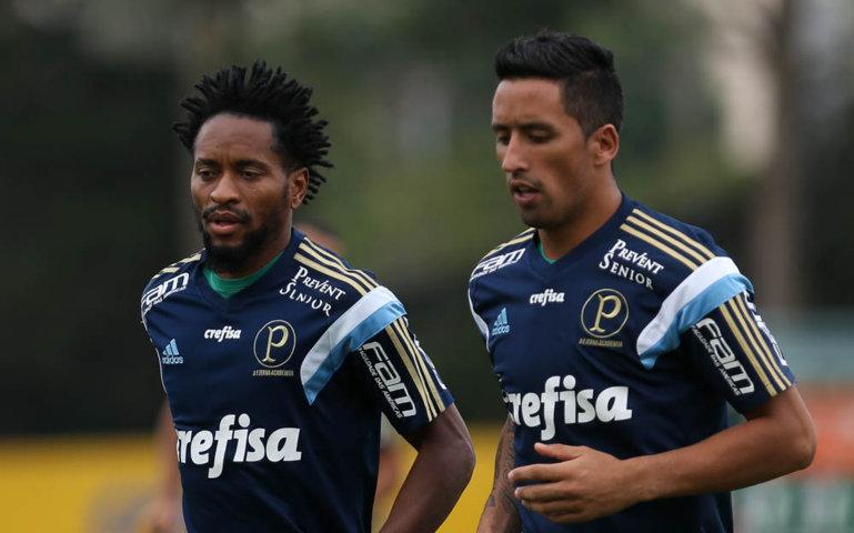 Zé Roberto foi a novidade na lista de relacionados. (Cesar Greco/Ag. Palmeiras/Divulgação)