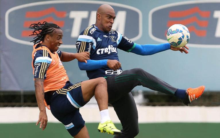 O camisa 5 está perto de voltar a ficar à disposição da comissão técnica. (Cesar Greco/Ag.Palmeiras/Divulgação)
