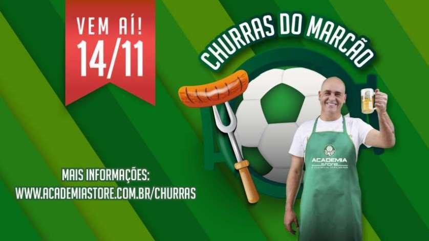 Academia Store promoverá um encontro especial entre torcedores e o eterno ídolo da história do Palmeiras. (Divulgação)